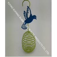 Decoration Colorful Wire Bird Feeder Powder Coated 2.95 X 2.95 X 11.4 Inches Manufactures