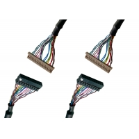 Signal Transmission 30 Pins I-PEX LCD EDP Cable Manufactures