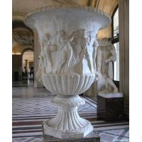 Marble Flowerpot for building or garden Manufactures