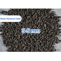Refractory Grade Brown Aluminum Oxide Abrasive Multi Size 200 / 325 Mesh Manufactures