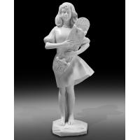 High quality polish white marble statue sculpture for exhibition,stone carving supplier Manufactures