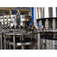 9KW 380V Carbonated Drink Filling Machine 8000BPH Liquid Filling Machines Manufactures