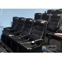 Update 4D Theater Equipment Seats With Three Ultra Features And Physical Effect Technology Manufactures