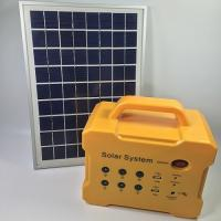 10 Watt Small Solar Energy System / Off Grid Solar Power System Kits Manufactures