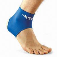 Ankle Support, Made of SBR with Nylon Jersey Manufactures