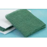 Green X Ray Detectable Medical Gauze Swab , Gauze Dressing Pads Wound Care Manufactures