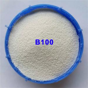 B100 Zirconia Ceramic Blasting Media For Stainless Steel Parts Manufactures