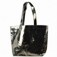 Shopping Bag, Made of PU, Customized Designs are Accepted Manufactures