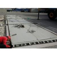U Shaped Beam Road Weighbridge Truck Scale Type With 4 ~ 6mm Thickness Steel Plate Manufactures