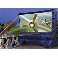 Lightweight Inflatable Outdoor Projector Screen Fabric Material Apply To Home Manufactures