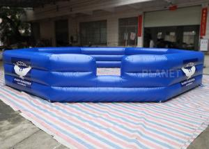 Air Sealed PVC Custom Size Logo Inflatable Gaga Court For Kids And Adults Inflatable Gaga Ball Pit Manufactures