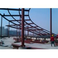 Anti Corrosion Cracking Architectural Structural Steel For Workshop / Warehouse Manufactures