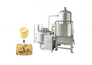 80kw 40kg/Batch 200L Plc SS304 Vacuum Frying Machine Manufactures