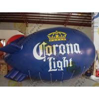 Durable Inflatable Helium Zeppelin , B1 Colorful Fireproof Inflatable Airship Manufactures