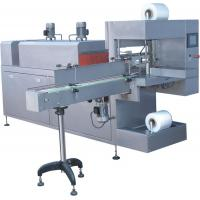 Buy cheap Sleeve Type Shrink Wrap Machine For Shrinking Packaging Cans / Bottles from wholesalers