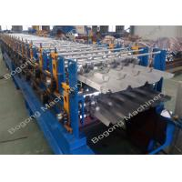 Dual Level / Double Deck Roll Forming Machine , Wall Panel Roll Forming Machine Manufactures