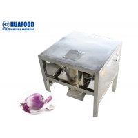 600*600*700mm Automated Commercial Onion Peeler Cutting Onion Peeling Machine Manufactures