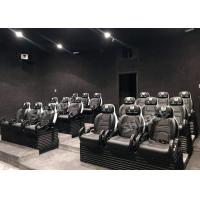 High - End 5D Flight Simulator Cinema Exhibition In Army Museum For 12 People Manufactures