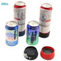 Silicone Band Fixation Plastic Ice Chill Puck Cooler Mini Cold Packs For Beer Can Cooling Manufactures
