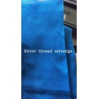 Sudan Silver Golden selvedge 100% spun polyester high twisted full voile factory direct sale cheap price high quality Manufactures