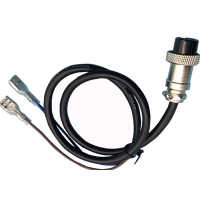 Plug Resistant M16 2 Pin 500mm Overmolded Cable Assembly Manufactures