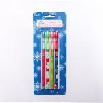Fancy Plastic Bullets Push Pencil / 9 Colors Bullet Pencil For Students Manufactures