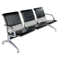 Metal Steel 3 Seater Hospital Waiting Area Chairs Public / Airport Waiting Chairs Manufactures