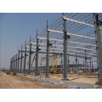 EPS 50MM Double Sheet 3.2m Steel Structure Warehouse Metal Frame Manufactures
