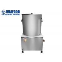 Lettuce Vegetable Dewatering Equipment Spinach / Pepper Drying Machine Manufactures