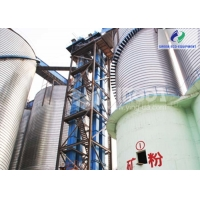 130m High Strength Steel Rubber Belt Bucket Elevator For Ore Coal Manufactures