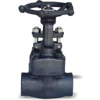Full Bore Flanged Gate Valve , Fire Hydrant Forged Steel Gate Valve Manufactures