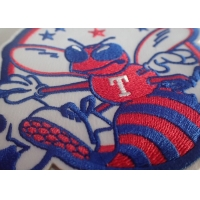 OEKO Washable Custom Embroidered Patches For Cap Bags Manufactures