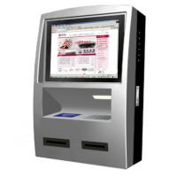 High Resolution Wall Mounted Kiosk , Custom Self Service Check In Kiosk Manufactures