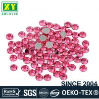 Loose Ss10 Hotfix Rhinestones Glass Material For Nail Art / Home Decoration Manufactures