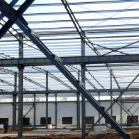 Fabricated Light Type Q235 Q345 Pre Built Metal Buildings Prefabricated Steel Structure Manufactures
