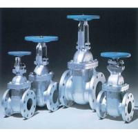 Sewage Non Rising Stem Gate Valve , Flanged Metal Seated Gate Valve Manufactures