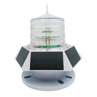 2021 hot sale 6groups solar panel GPS locator by app 6nm solar marine beacon navigation light for yacht ship boat vessel Manufactures