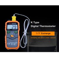 High Precision Temp Humidity Meter , Auto Power OFF Digital Thermometer Hygrometer Manufactures