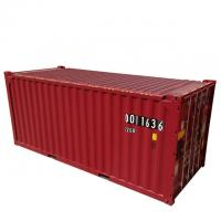 DNV Certificate 39.90CBM 20ft ISO Tank Container Red Color Corten - A Material Manufactures