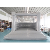 White Bouncy Castle For Wedding Inflatable White Castle Wedding White Jumping Castle Inflatable Water Bounce House Manufactures