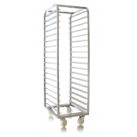 Dustproof 18 Shelves 460x610x1780mm Stainless Steel Trolly Manufactures