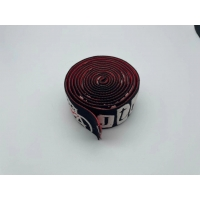 New design silicone printed logo embossed elastic band for underwear waistband garment Manufactures