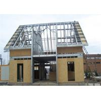 Buy cheap Prefabricated Single Floor Light Steel Gauge House With Wall Board from wholesalers