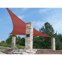 UV Block Triangle Outdoor Shade Structures For Home / Public Outdoor Areas Manufactures