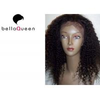 Buy cheap Curly Virgin Full Lace Human Hair Wigs For Black Women hair weaving from wholesalers