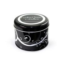 round tin case for candles Manufactures
