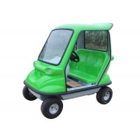 350 W DC Motor Electric Sightseeing Car With Double Seats Green Lead Acid Traction Battery Manufactures