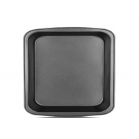 Buy cheap 13 Inch Black 330x331x41mm Rectangular Pizza Tray from wholesalers