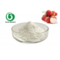No Additives Fruit Juice Powder Natural Freeze Dried Lychee Flavor Powder Manufactures