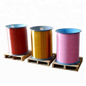 Colorful 1/2'' Nylon Coated Wire Rolls For t4.8mm Book Manufactures